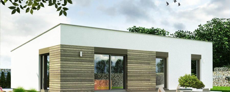 drevený rodinný dom - nízkoenergetické montované drevodomy na kľúč