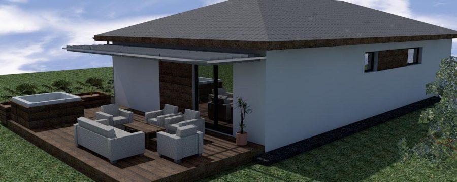 murovaný rodinný dom na kľúč za cenu bytu